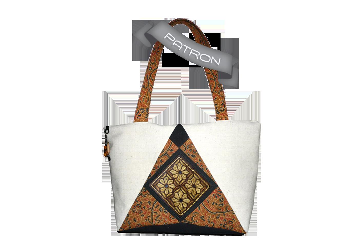 Patron du sac soya boutique art cr atifs textiles for Cuir au metre carre