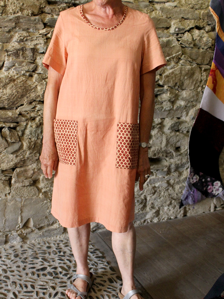 Robe en coton Khadi