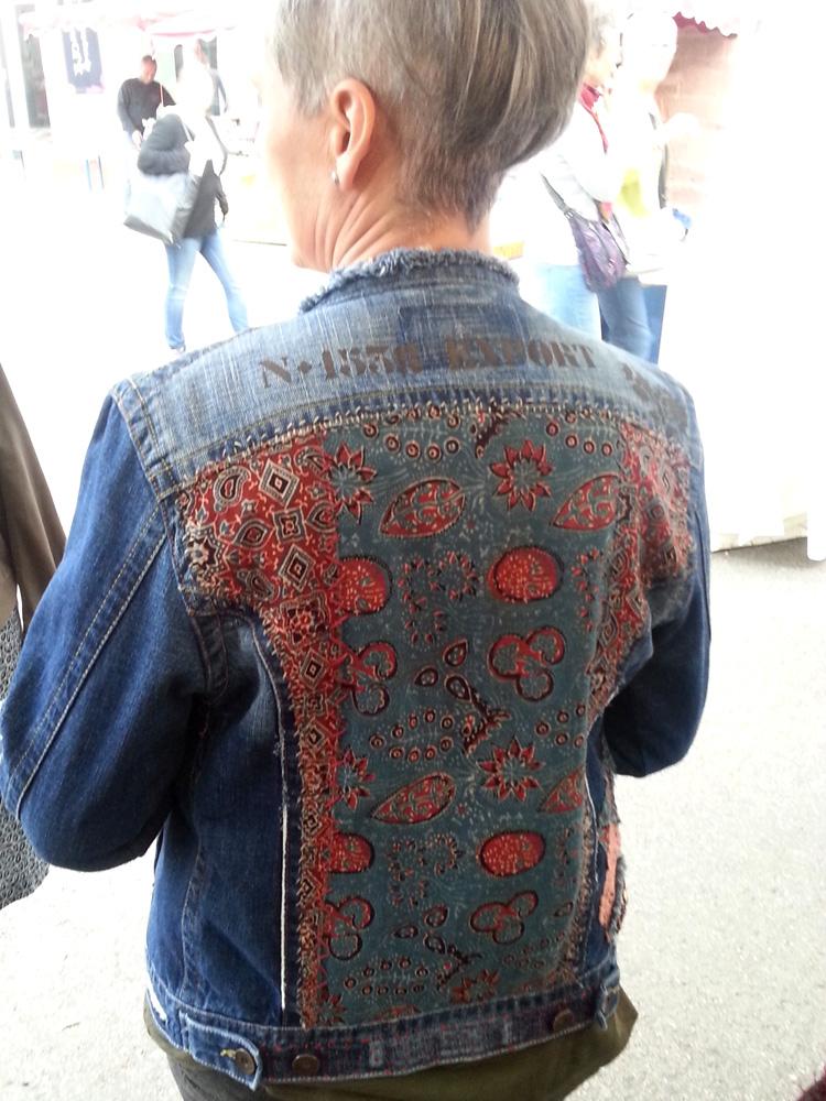 veste customisée