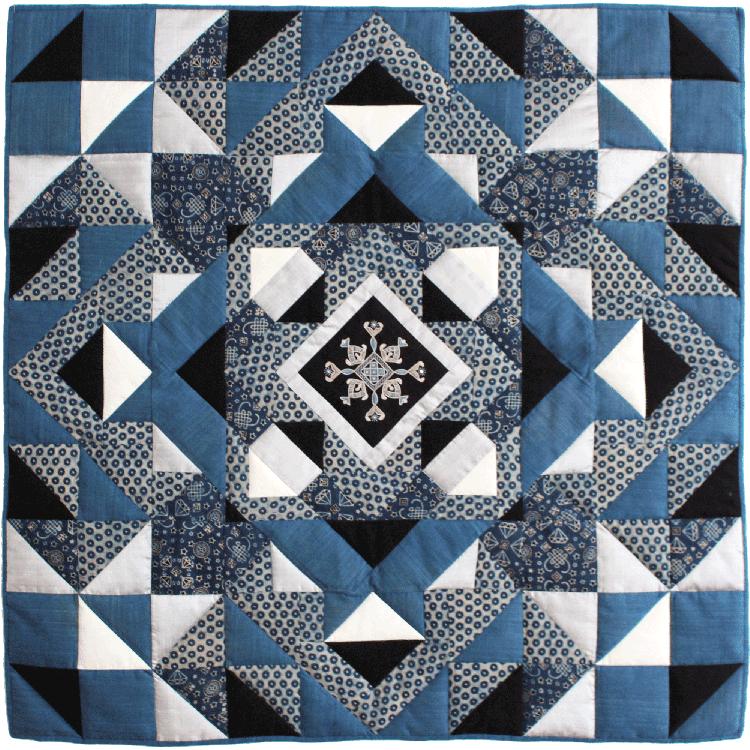 kit de patchwork indigo