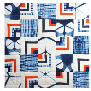 kit de patchwork indigo