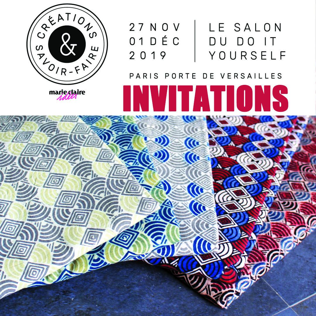 Invitations Créations & Savoir-Faire