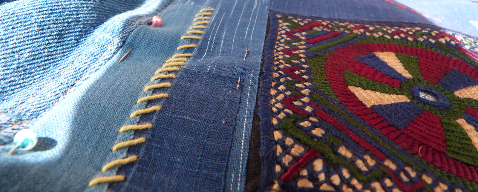 customisation de veste en jean