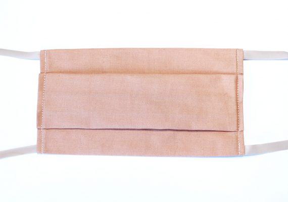 masque tissu à plis
