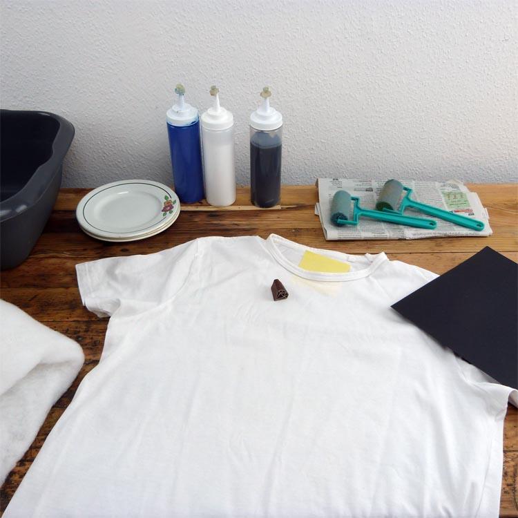 personnaliser un t-shirt