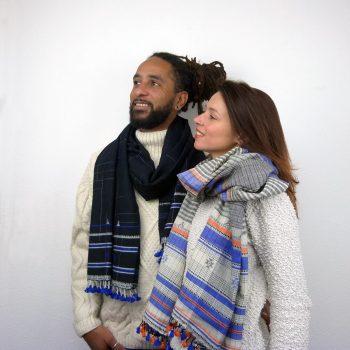 écharpes en laine
