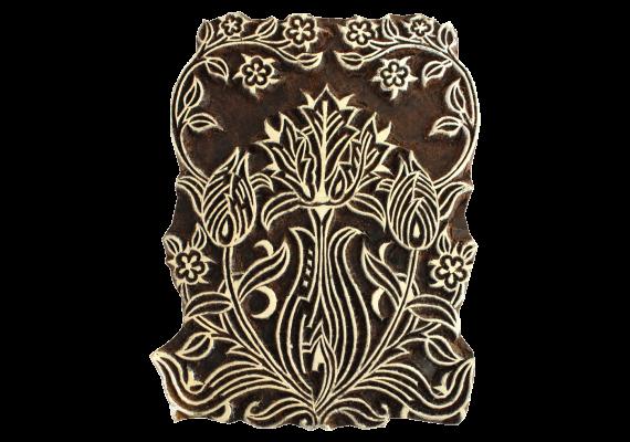 Tampon Grand bouquet d'oeillets