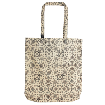 Tote Bag DIAMOND écru