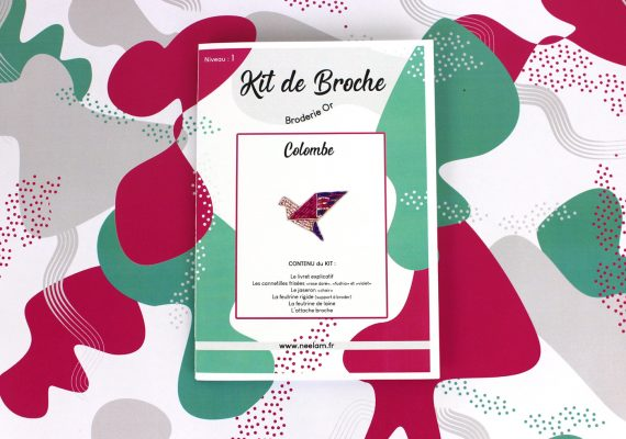 Kit de broche COLOMBE complet