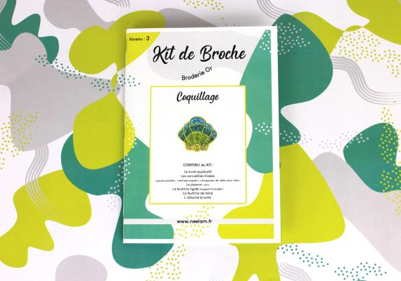Kit de broche COQUILLAGE complet