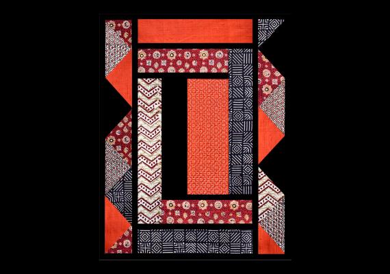 Kit de patchwork Naliya fauve