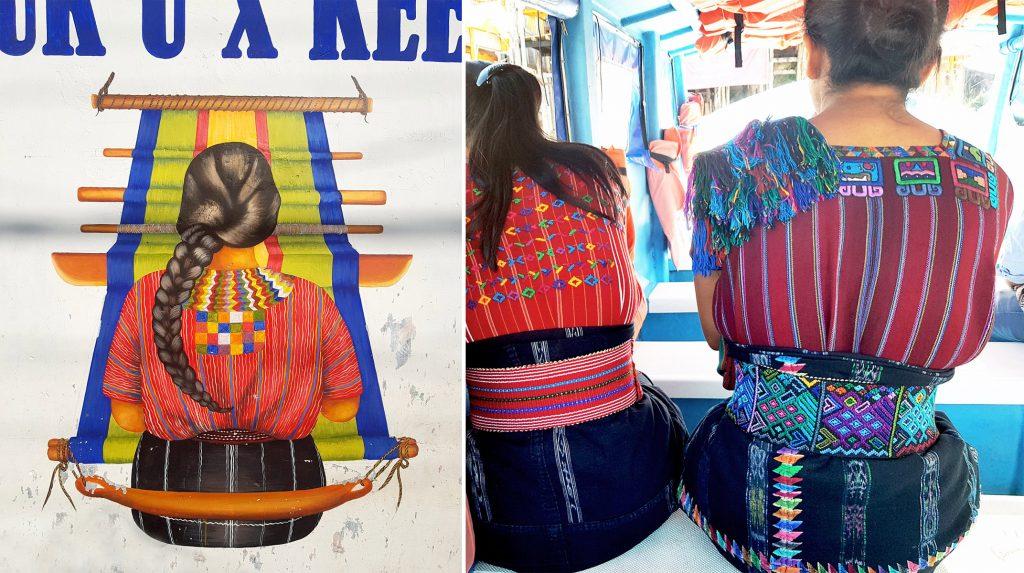 Tenues traditionnelles du Guatemala