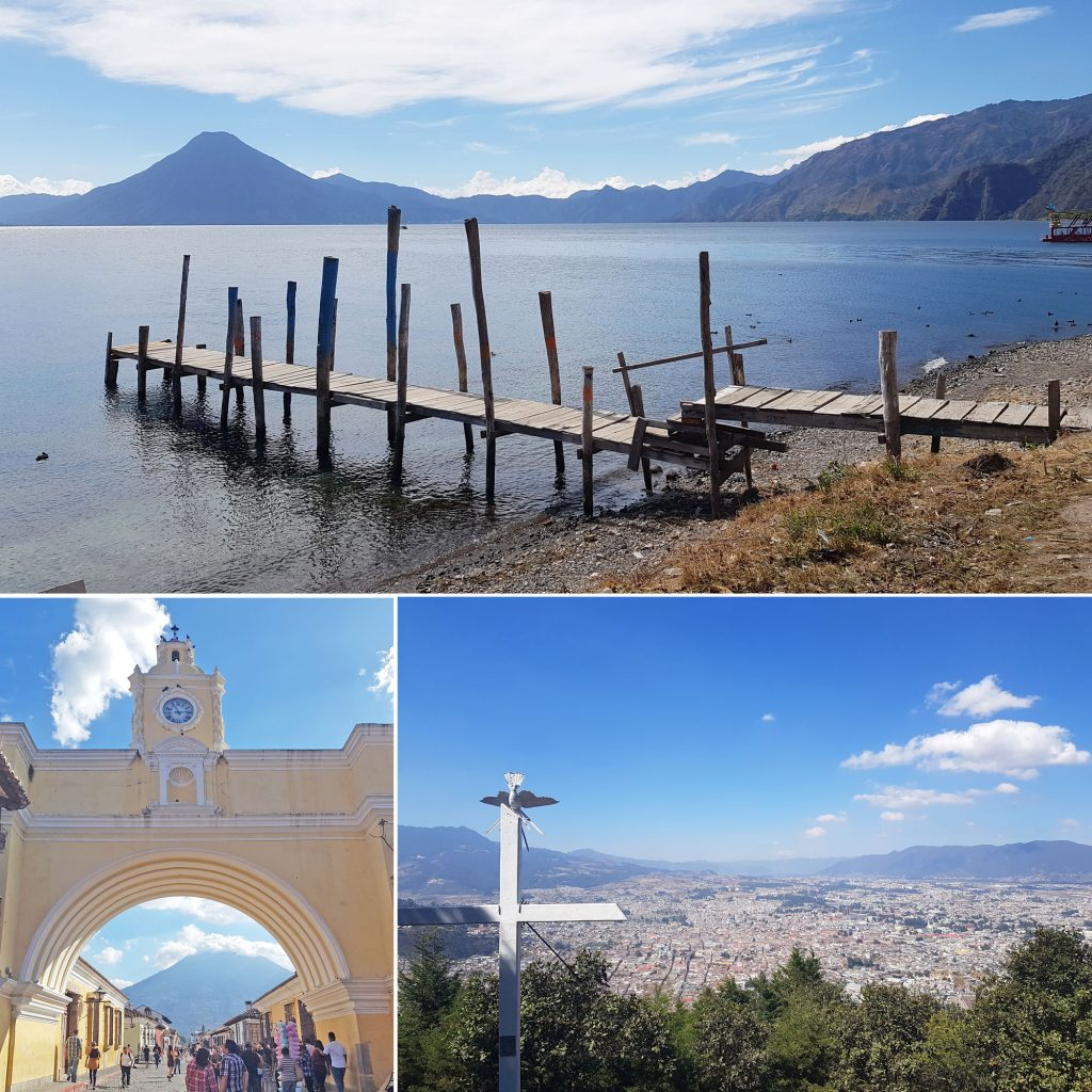 Paysages variés du Guatemala
