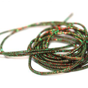 La cannetille scintillante Vert - Rouge