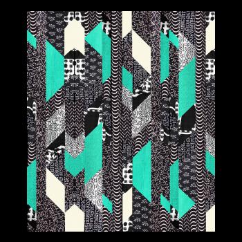 Kit de patchwork Lalak lagon