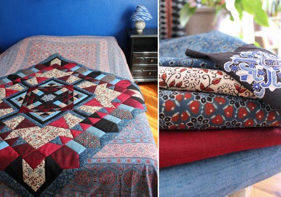 kit Asha et tissus artisanaux