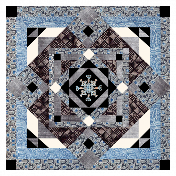 Kit de patchwork Kuma horizon